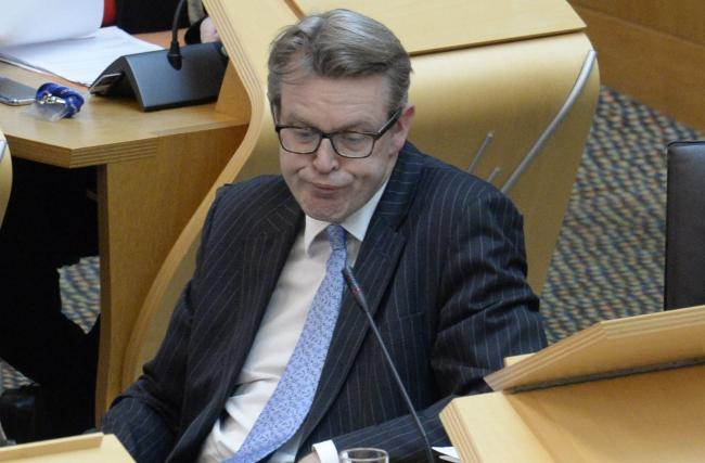 By his own logic, Adam Tomkins is a 'so-called MSP'