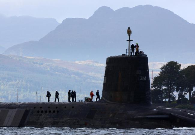 What would happen to Trident after Scottish independence?