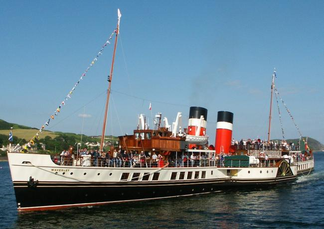 The Paddle Steamer Waverley requires repairs to keep sailing