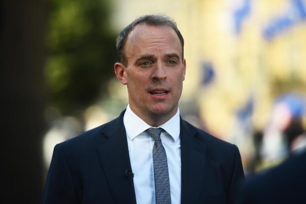 The National: Dominic Raab