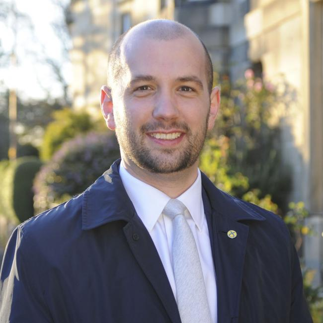 Ben MacPherson opened the Fruit for the Future event at JHI Dundee last week