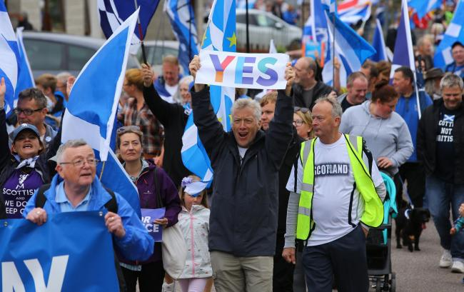 After smaller but well attended marches in the likes of Ayr and Campbeltown, a major turnout is expected in Scotland's third-largest city