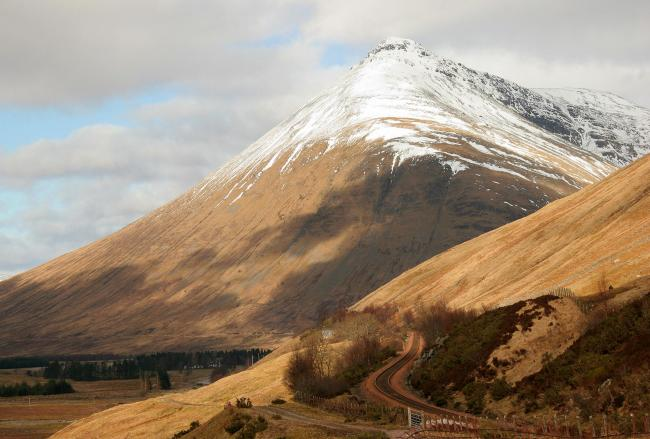 Beinn Dorain from the A82. (Photo by: Universal Images Group via Getty Images).