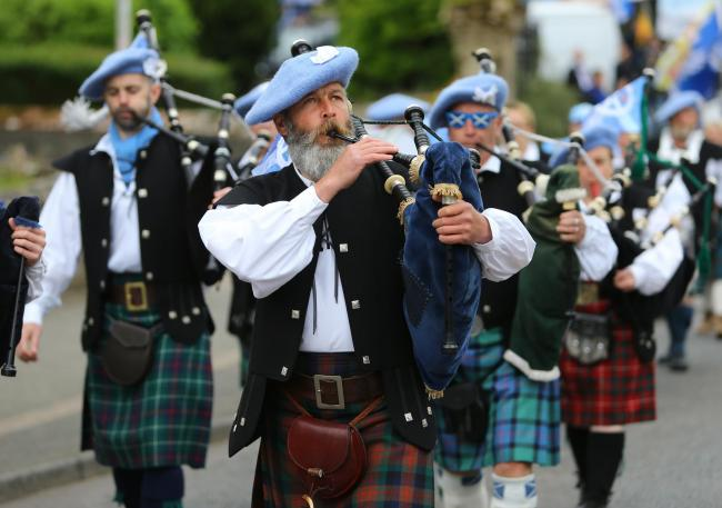 Saor Alba Pipes and Drums will play in the main parade and at Lledoners jail