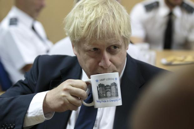 Boris Johnson accused MPs and the EU of collaborating to block Brexit