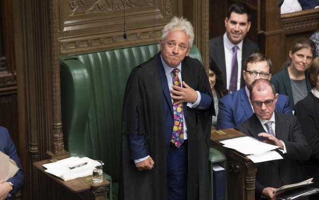 John Bercow's replacement will be decided by anti-No Deal MPs