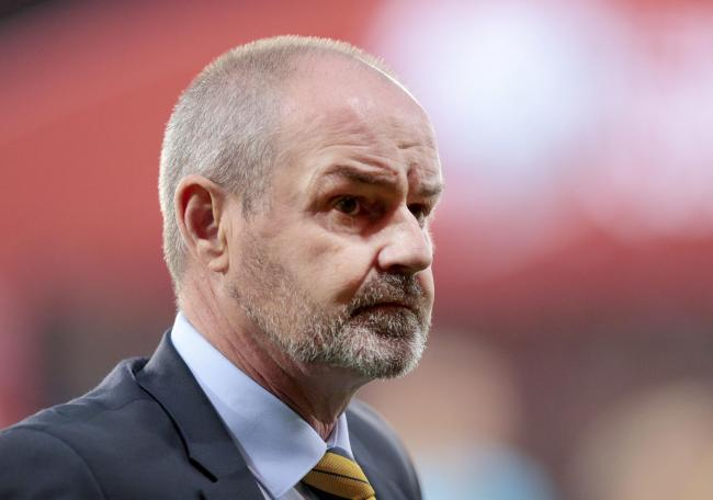 Scotland manager Steve Clarke. Picture: Graham Stuart/PA Wire.