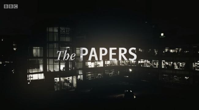 The National team share their favourite appearances on BBC's The Papers