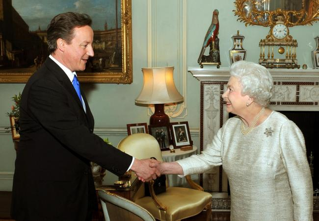 David Cameron has admitted he asked the Queen to intervene to defend the Union