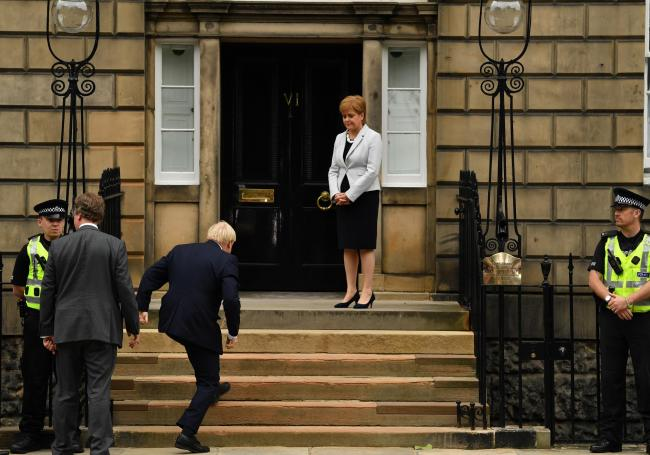 One woman who might not be feeling the Boris love at the moment is Nicola Sturgeon