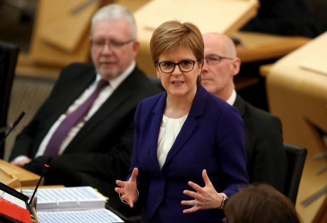 Nicola Sturgeon is frustrated with the two party leaders