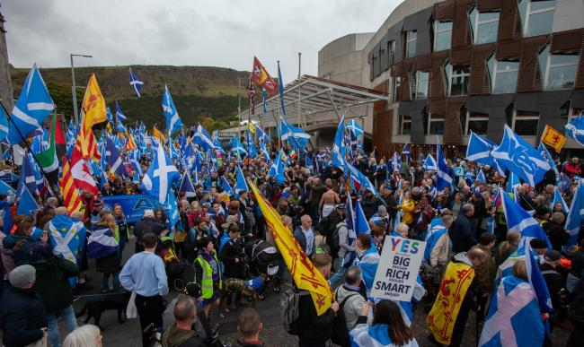 Nicola Sturgeon did not attend Saturday's march
