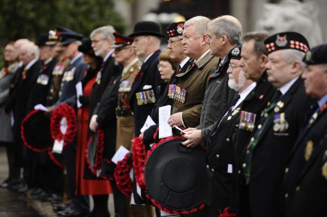 Scotland is home to roughly 220,000 veterans