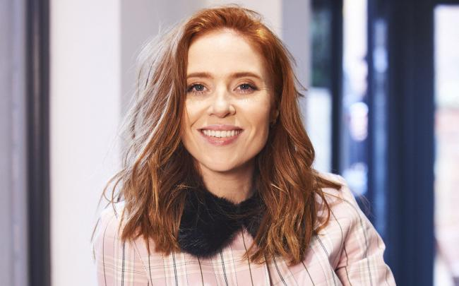 Presenter Angela Scanlon makes use of cutting-edge VR technology