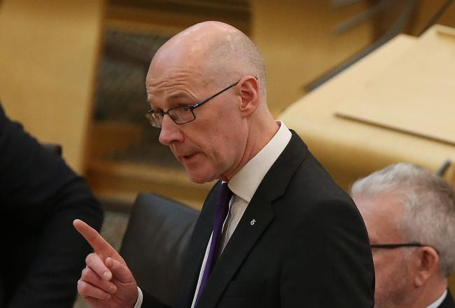 Deputy First Minister John Swinney hit out at the UK Government