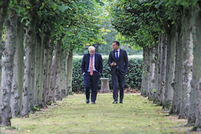 Boris Johnson and Irish Taoiseach Leo Varadkar were optimistic about the chances of an agreement being reached after Brexit talks