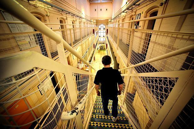 Barlinnie prison is overcrowded and was flagged for concern
