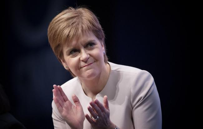 Nicola Sturgeon will attempt to leave the row over the so-called Plan B for independence behind in her keynote speech