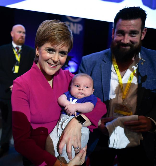 Scottish Indy supporters almost a century apart come together at SNP conference
