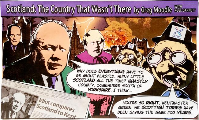 Scotland: The country that wasn't there