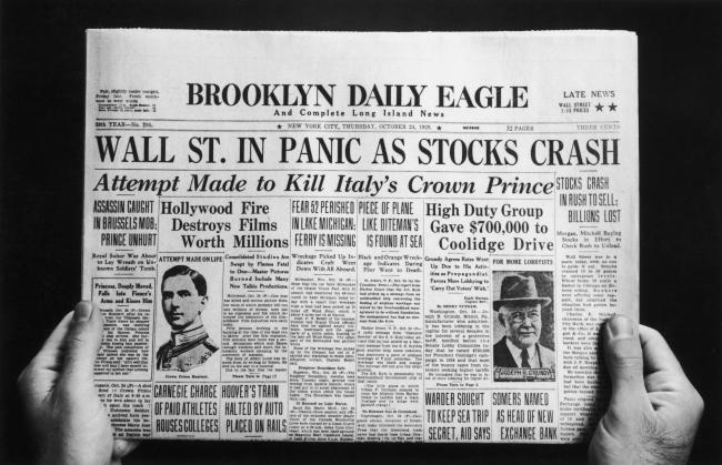 The Wall Street Crash decimated Americans' finances and caused the Great Depression