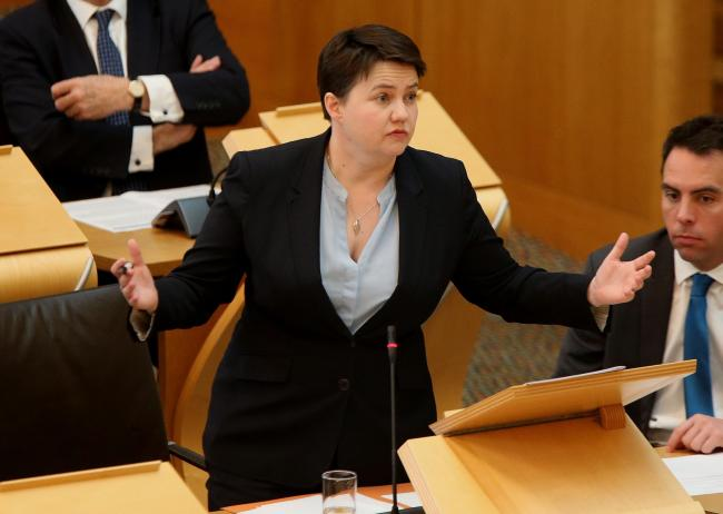 Ruth Davidson has faced calls to resign after taking on a controversial new job. Photograph: Gordon Terris