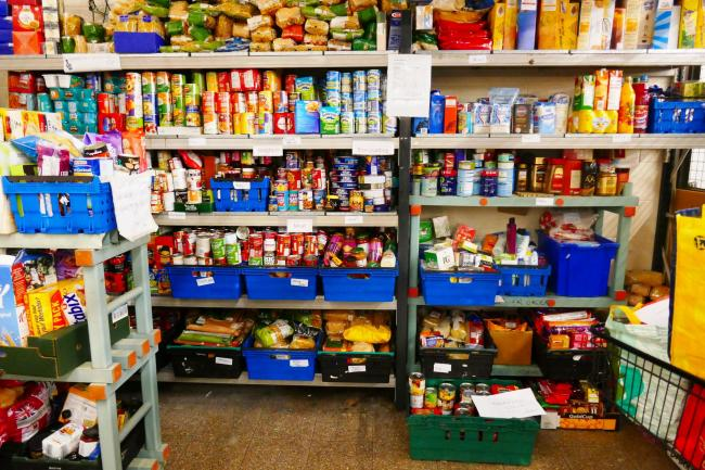 Why are there food banks in one of the richest countries in the world?