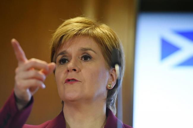 Nicola Sturgeon has ruled out a formal coalition with Labour