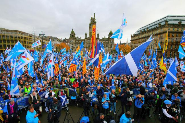 This is what our speakers had to say at The National's rally in George Square