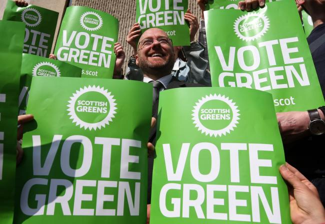 Only the Greens are are prepared to significantly realign our economy