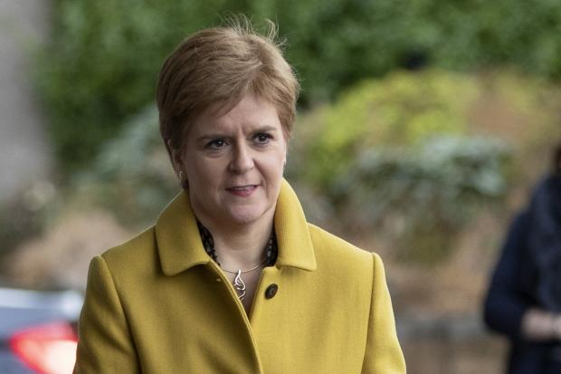 The National: Nicola Sturgeon said she would consider 'all options'