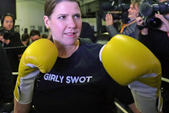 LibDem leader Jo Swinson attempted to incentivise a LibDem win by threatening independence