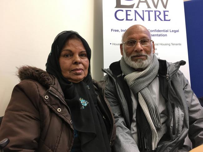 Khadija and Muhammad Anwar have been in the asylum system for eight years and could be facing a lock-change eviction by Serco
