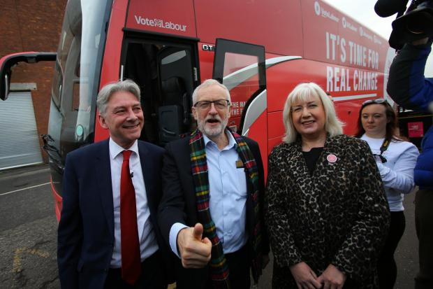 Richard Leonard and Jeremy Corbyn went on a 48-hour tour of Scotland
