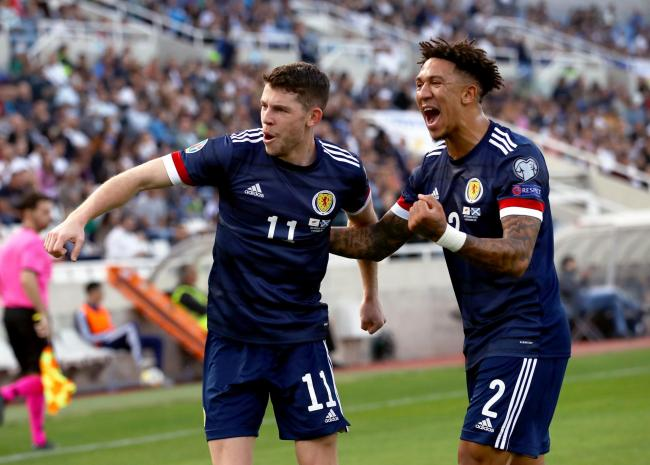 Ryan Christie was a standout in Scotland's win over Cyprus, with Liam Palmer also impressive.