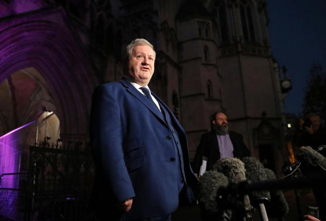 Ian Blackford said excluding the SNP resulted in Scottish voters being treated as 'second-class citizens'