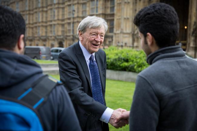 Labour peer Lord Alf Dubs, who fled the Nazis in Prague, condemned anti-Semitic posts made by the former Tory candidate for Aberdeen North