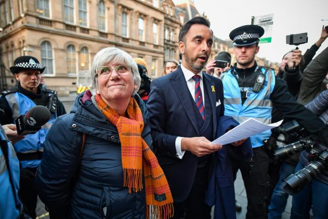 Lawyer Aamer Anwar is representing former Catalan minister Clara Ponsati