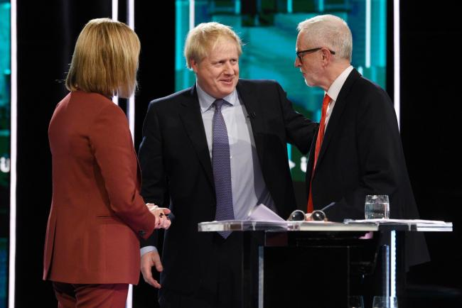 Head to head: Boris Johnson and Jeremy Corbyn quarrelled over indyref2