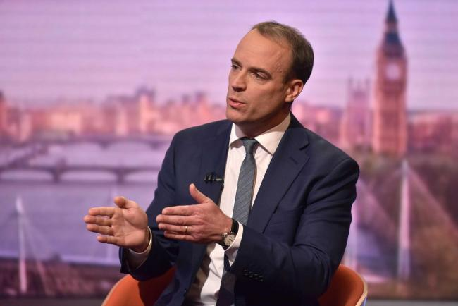 Dominic Raab said 'no-one gives a toss about the social media cut and thrust'