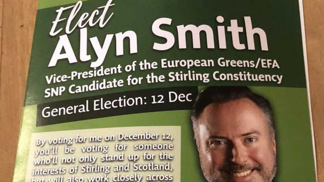 SNP candidate Alyn Smith criticised over 'fake green leaflet'