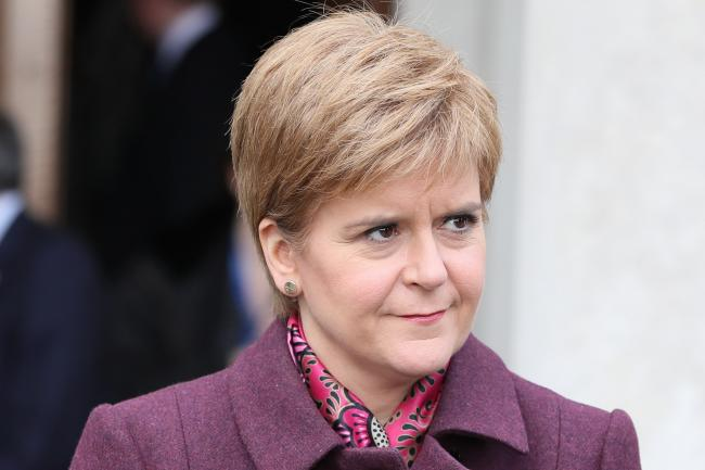 Nicola Sturgeon said that the next independence vote would have to be legitimate and ruled out a Catalan-style vote