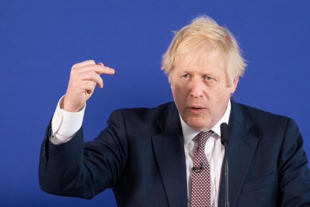 The National: Boris Johnson has said he would block a referendum