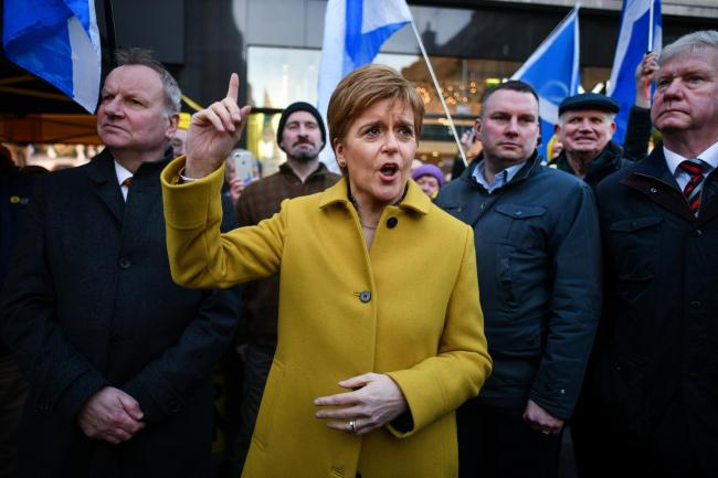 Nicola Sturgeon asserts her position on anti-Semitism and insists she is not responsible for Jeremy Corbyn