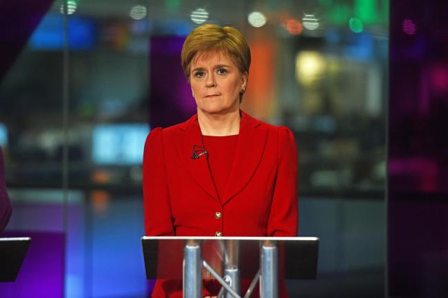 Nicola Sturgeon said the LibDems backed a Tory austerity agenda
