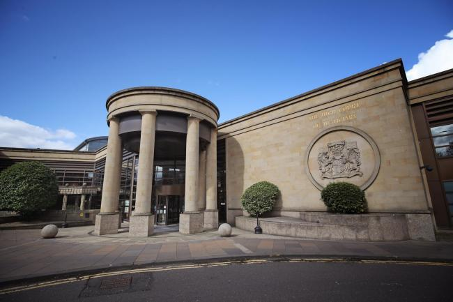 , 22, is alleged to have collected weapons for an attack on the Fife Islamic Centre