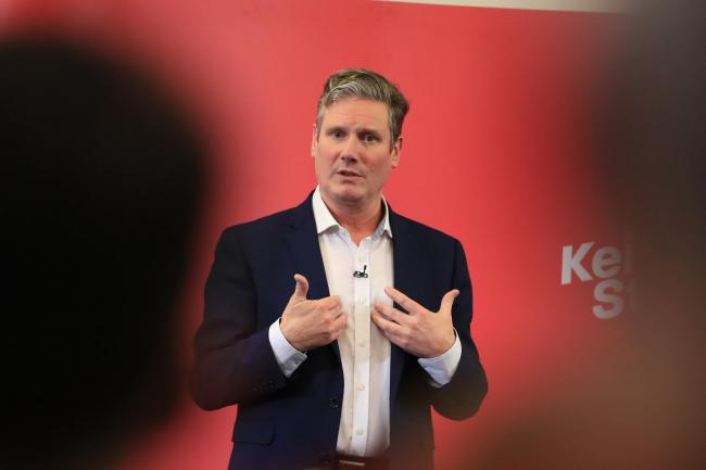 Keir Starmer was the clear leader with 89 nominations
