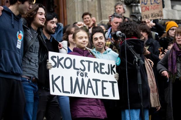 Swedish climate activist Greta Thunberg has told governments to 'act as you would in a crisis'