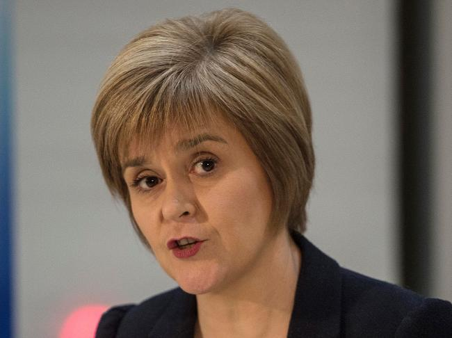 It was claimed Nicola Sturgeon and the former first minister used the phrase 'once in a lifetime opportunity'
