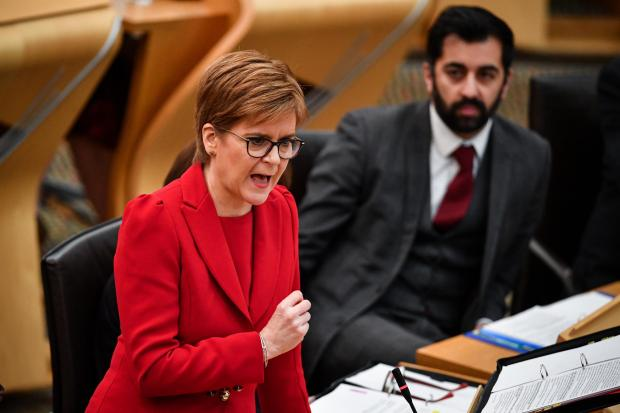 First Minister Nicola Sturgeon will speak on Wednesday, days before the UK tumbles out of the EU